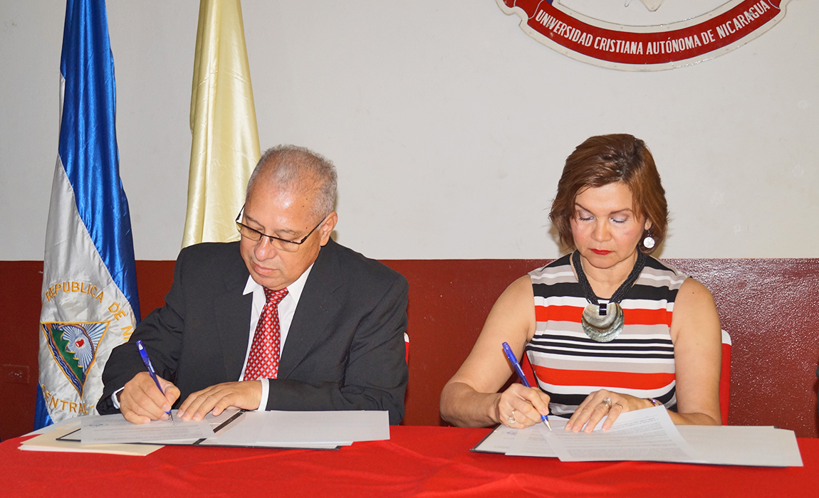 UCAN FIRMA CONVENIO CON EL INSTITUTO DE MEDICINA LEGAL